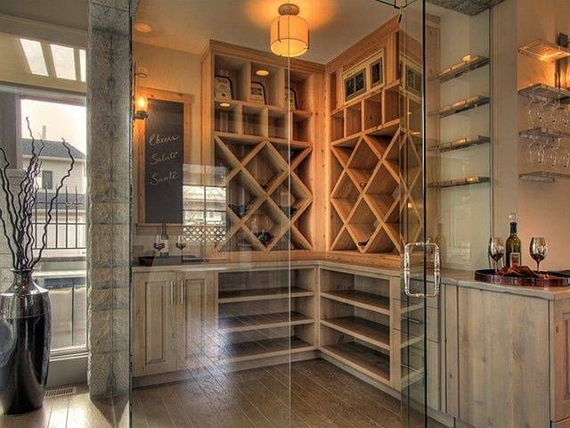 Wine room...ohh one can dream