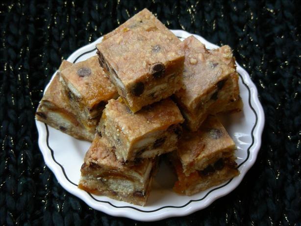 Rachel's Apricot Fudge Biscuit Slice (Unbaked)   Recipe