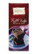 Raspberry Chocolate Crisp using Truffle Fudge Brownie Mix http://www ...