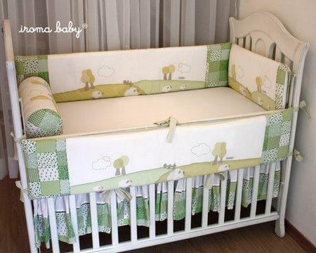 Kit Berço para decorar quarto de bebê36