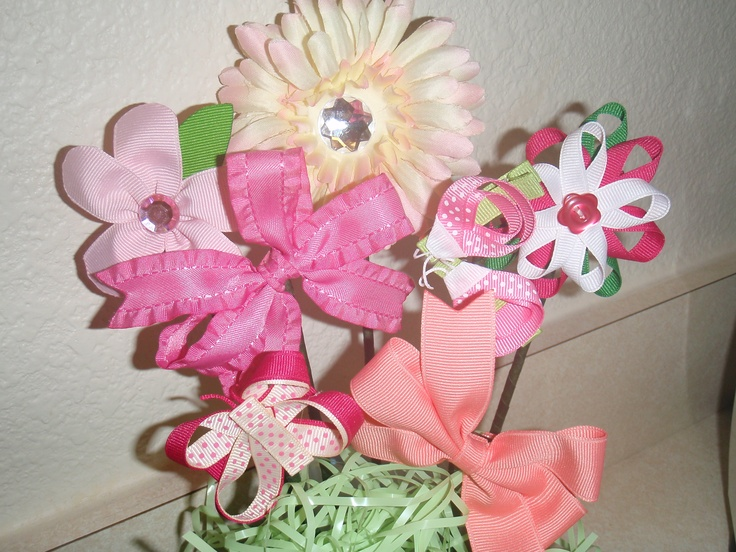 baby shower bow quet all party ideas pinterest