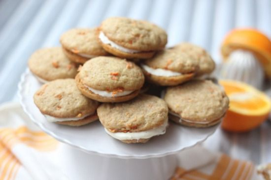Carrot Whoopie Pies with Orange Cream Cheese Filling | Recipe