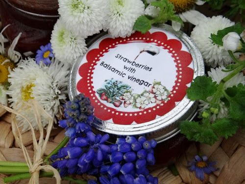 strawberry balsamic jam | just jams... | Pinterest
