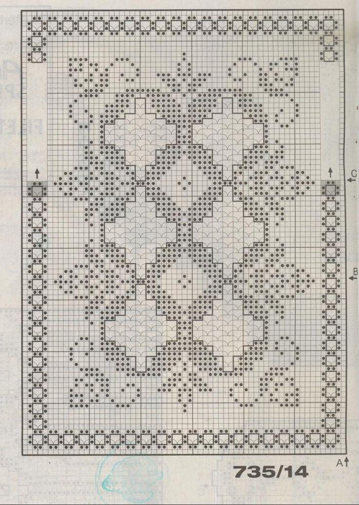 Стильное вязание крючком. Японский журнал со схемами 81