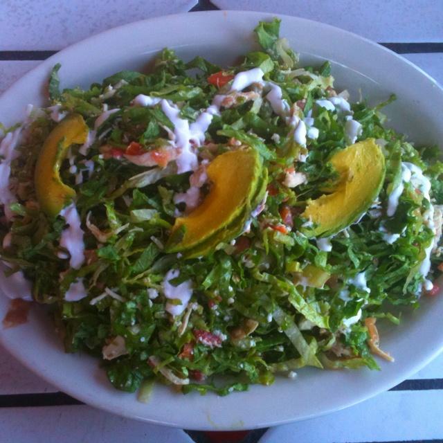 salad ever chicken tostada salad at el pollo loco chicken tostada ...