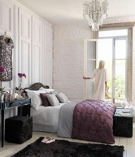 Master bedroom gray and purple decorative ideas pinterest - Purple and gray room ideas ...