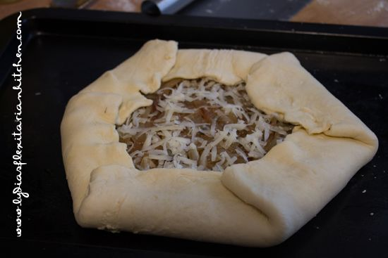 Rustic Onion Tart ~ Lydia's Flexitarian Kitchen