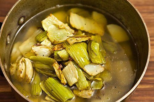 Roasted Celery Soup | Recipe