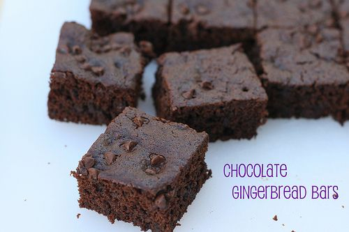 Chocolate Gingerbread Bars | Brownies Blondies Bars & Bites | Pintere ...