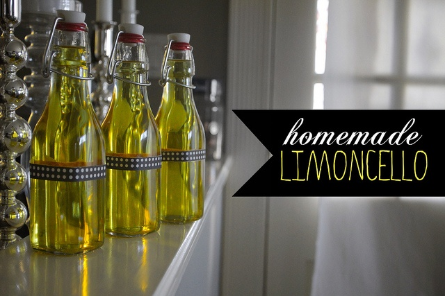 homemade limoncello...gifts | Projects | Pinterest