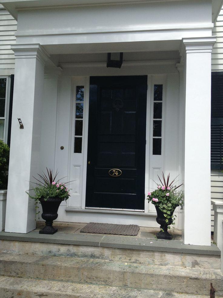 Front Door All In Dark Navy Or Gray Dream Home Pinterest