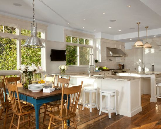 Beach cottage kitchen kitchens designs pinterest for Beach cottage kitchen design ideas