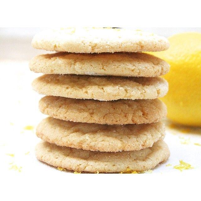 chewy lemon sugar cookies | Yummy Sweets | Pinterest