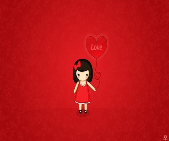 valentine day vector free