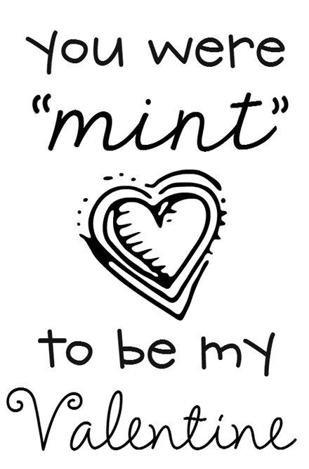 valentine's day mint chocolate