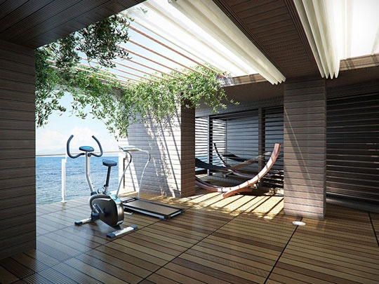 The most amazing workout room. Could you exercise here?     www.servicemagic.com