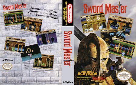 Nintendo NES Game Review of Sword Master