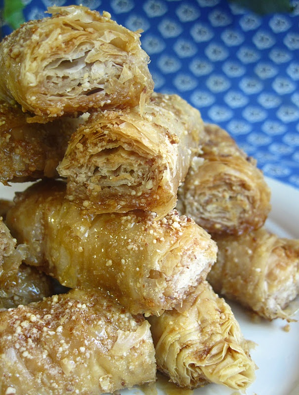 Naturally Sweet Recipes: Almond Baklava | COOKIES, FUDGE, PANCAKES, W ...
