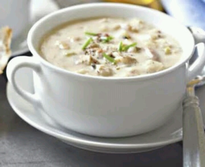 the best new england clam chowder | YUMMY FOODS | Pinterest