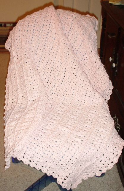 Free Knitting Pattern Baby Snuggle Blanket : Cuddle Soft Baby Blanket free pdf crochet afghan ...