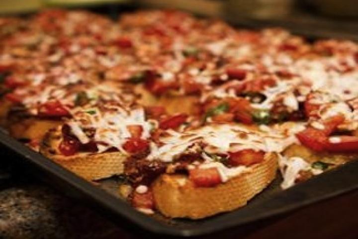 Double Tomato Bruschetta | Food | Pinterest