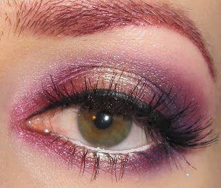 Sparkling Sugar Plums Eye Makeup Look | Eyes | Pinterest