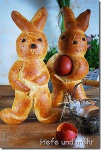 osterh schen easter bunnies breads and loafs pinterest. Black Bedroom Furniture Sets. Home Design Ideas