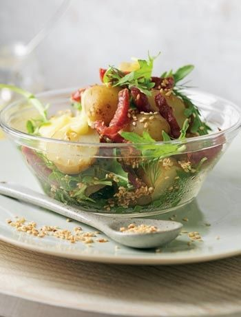 salad sprouted summer salad summer farro salad dill potato salad how ...