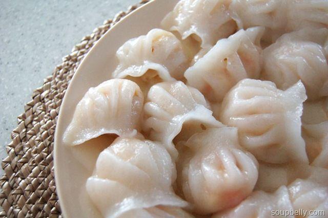 Asian Shrimp Dumplings Recipe — Dishmaps