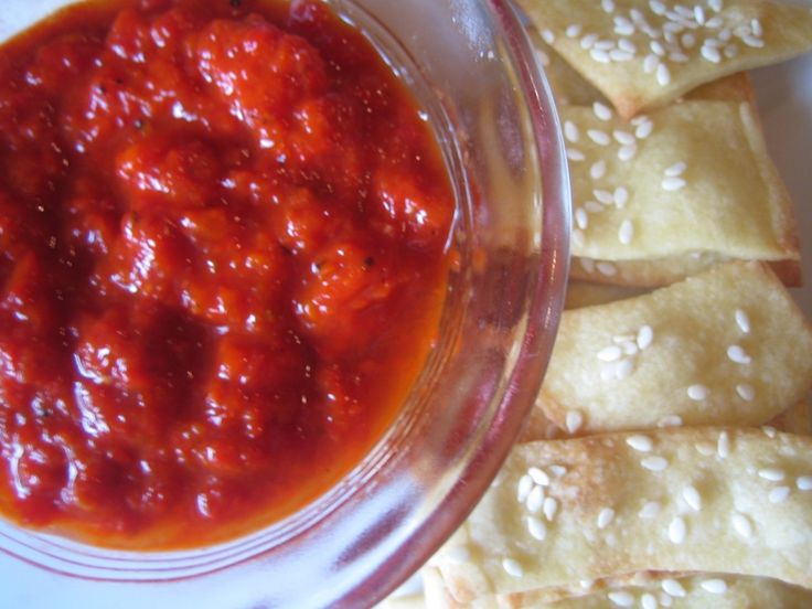 Roasted Red Pepper Dip | Food - Chips or Crackers Needed | Pinterest