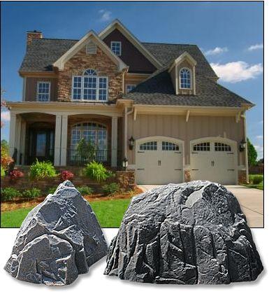 Decorative landscape electrical box covers decorative for Landscape rock utility cover