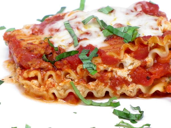how to make healthy lasagna