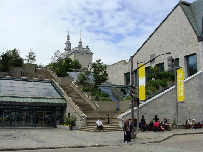 museum of civilization quebec city quebec city pinterest