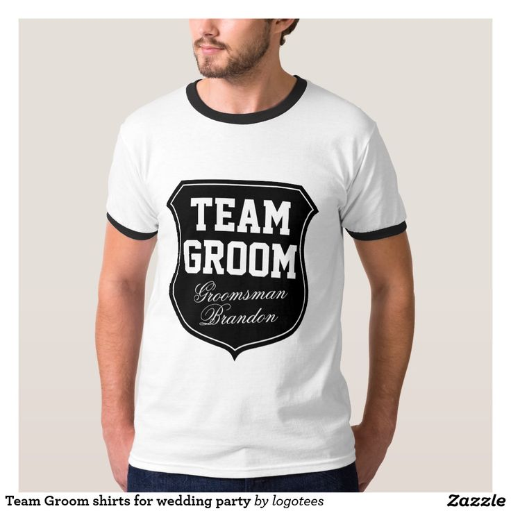 Shop Groom TShirts online  Spreadshirt