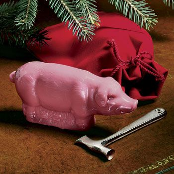 Crack a Peppermint Pig for good luck on New Year's Day, as you nurse ...