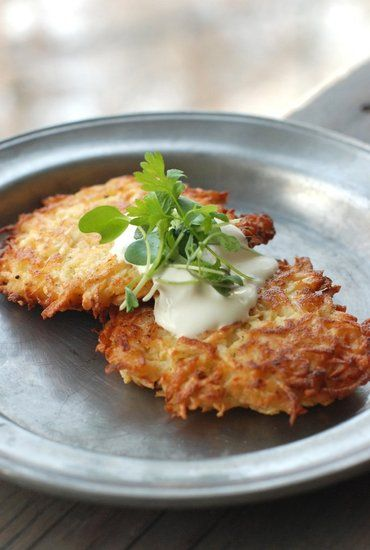 Celery root vegetable latkes | Favorite Recipes | Pinterest