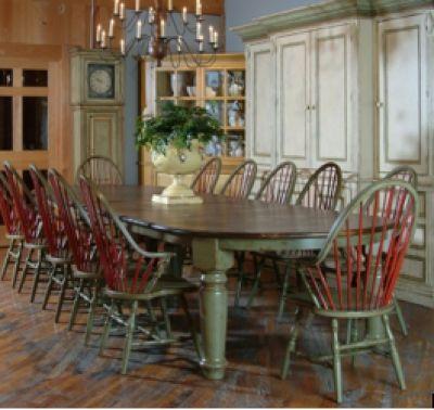 Large Family Table Design Kitchen Inspiration Pinterest