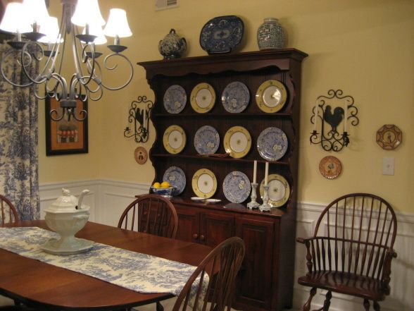 French Country Dining Room Dining Room Designs Decorating Ideas