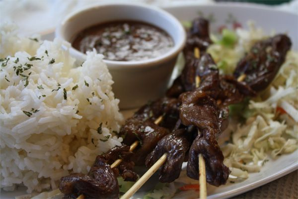 peanut sauce beef satay with spicy peanut sauce food journal beef ...