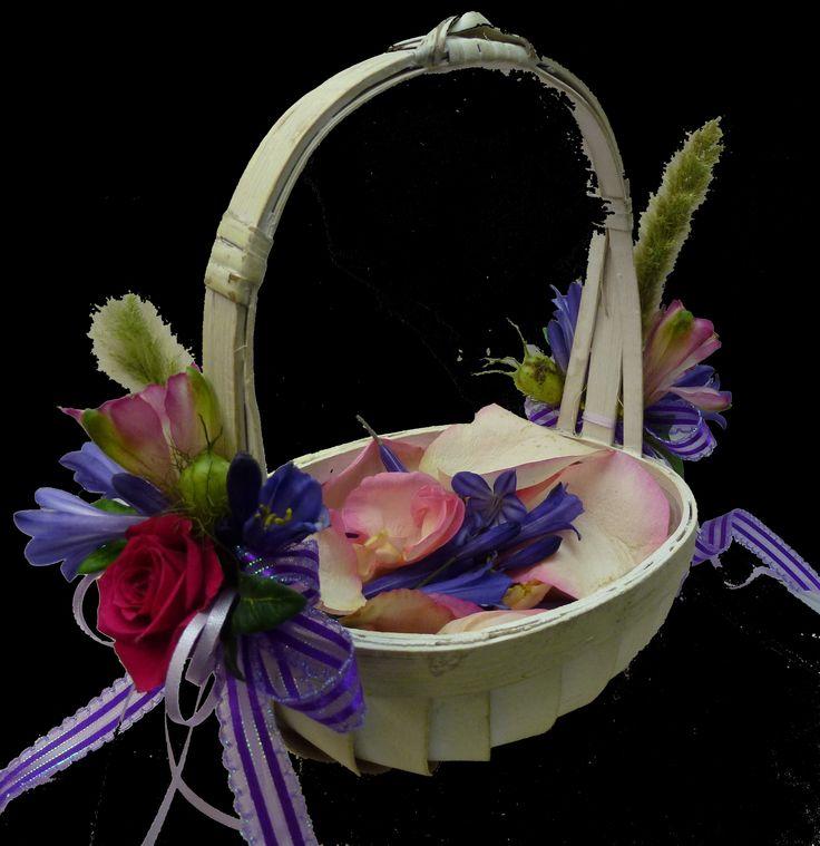 Flower Girl Baskets On Pinterest : Flower girl basket