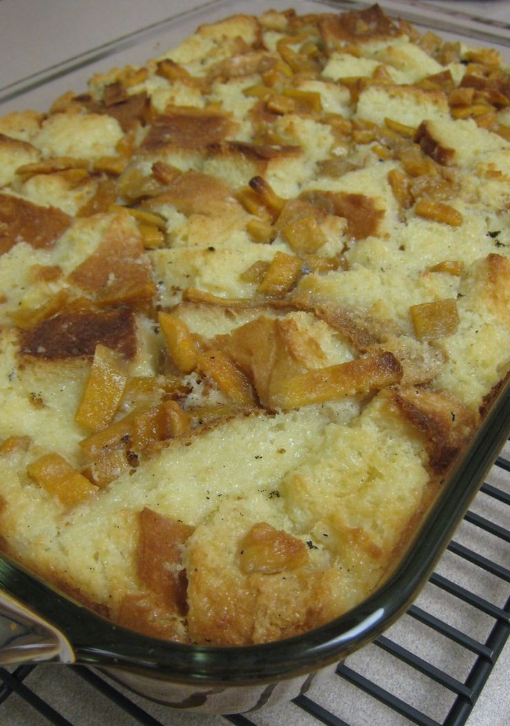 Mango and Pan de Sal Bread Pudding | Filipino Cuisine | Pinterest