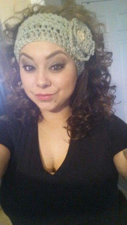 Hair Curly Headband My Style Pinterest