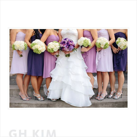 Coordinating Bridesmaid Dresses 15