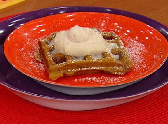 Lisa Petko's Better-Than-Pumpkin-Pie Pumpkin Waffles