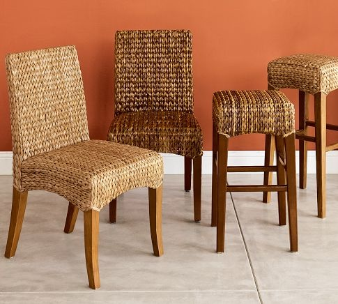Seagrass Chair Pottery Barn Dining Room Pinterest