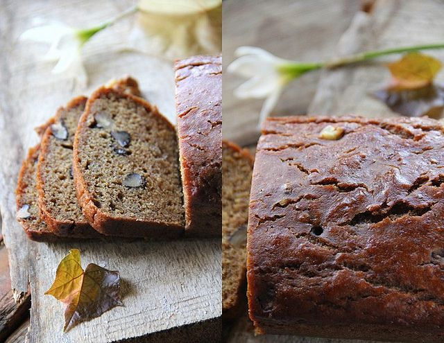 Banana walnut bread without eggs bread pinterest