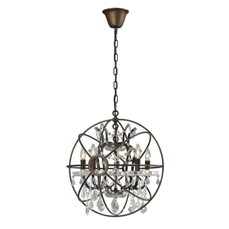 Orb Chandelier Home Decor