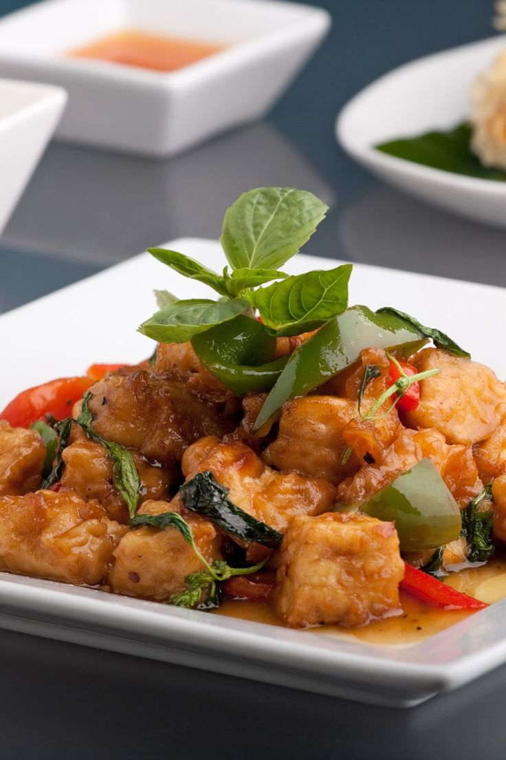 Vegan Lime-Curry Tofu Stir-fry Recipe | FOOD - Tofu | Pinterest