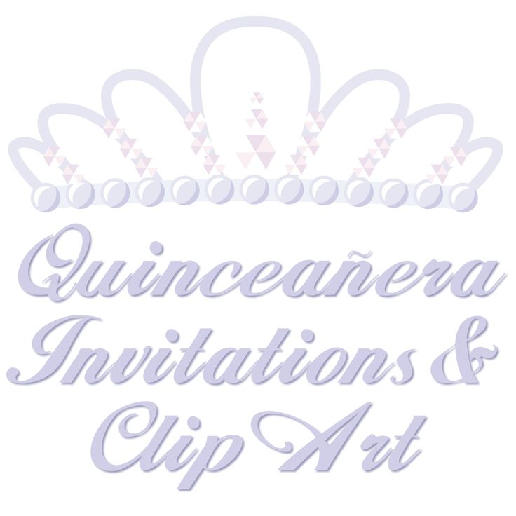 Free Quinceanera Invitations Templates and Clip Art