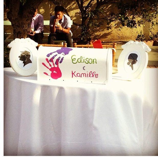 Up themed wedding...a first mailbox! Weddings Pinterest